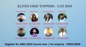 cat online coaching - elitesgrid cat topper