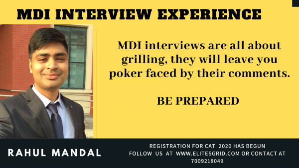 MDI interview experience | MBA interview questions | GDPI – EG