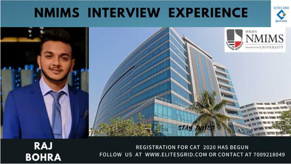 NMIMS Mumbai interview experience by Raj Bohra