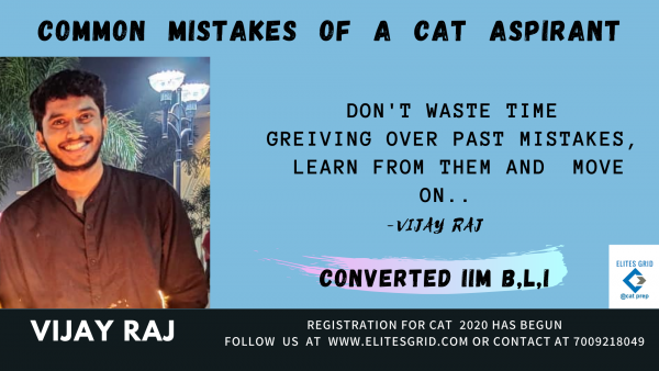 CAT preparation do's and don'ts | Mistakes by CAT aspirants | EG