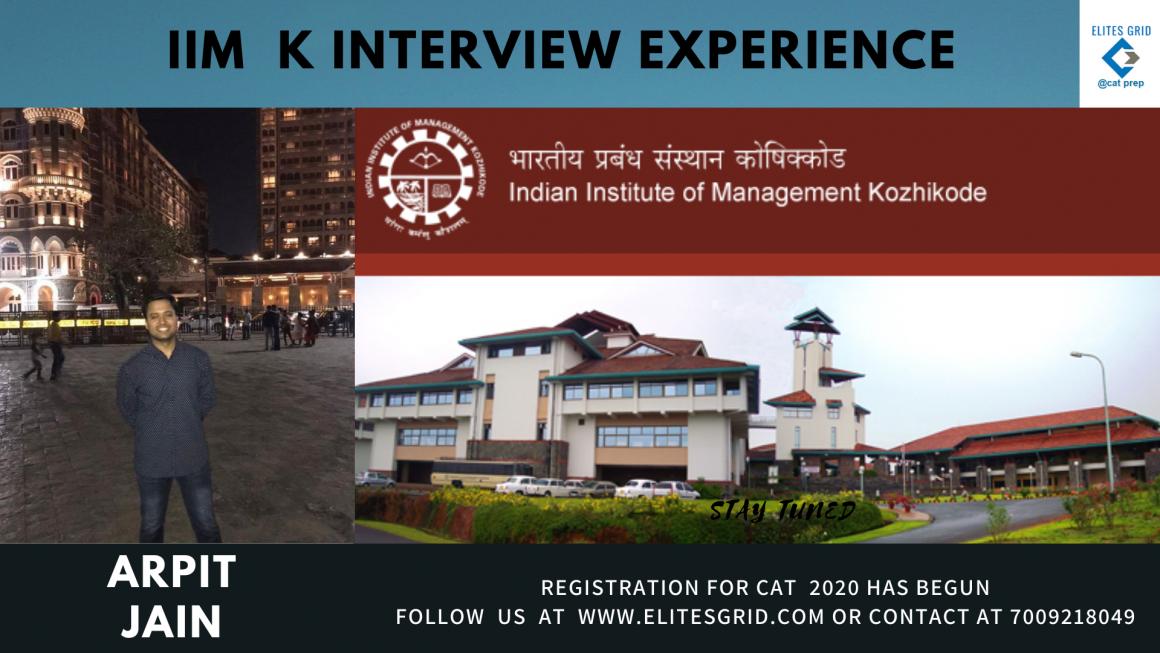 IIM K interview experience