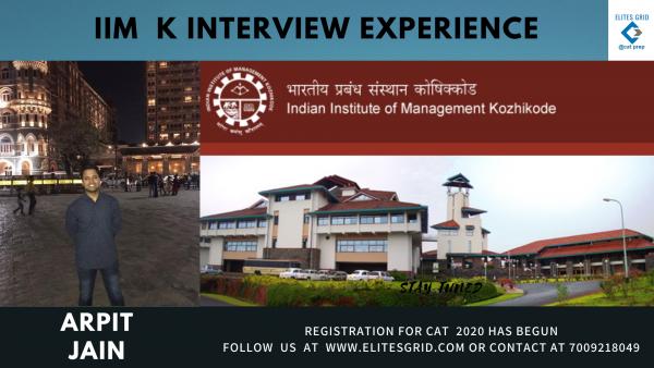 IIM K Interview experience of a commerce graduate| Arpit