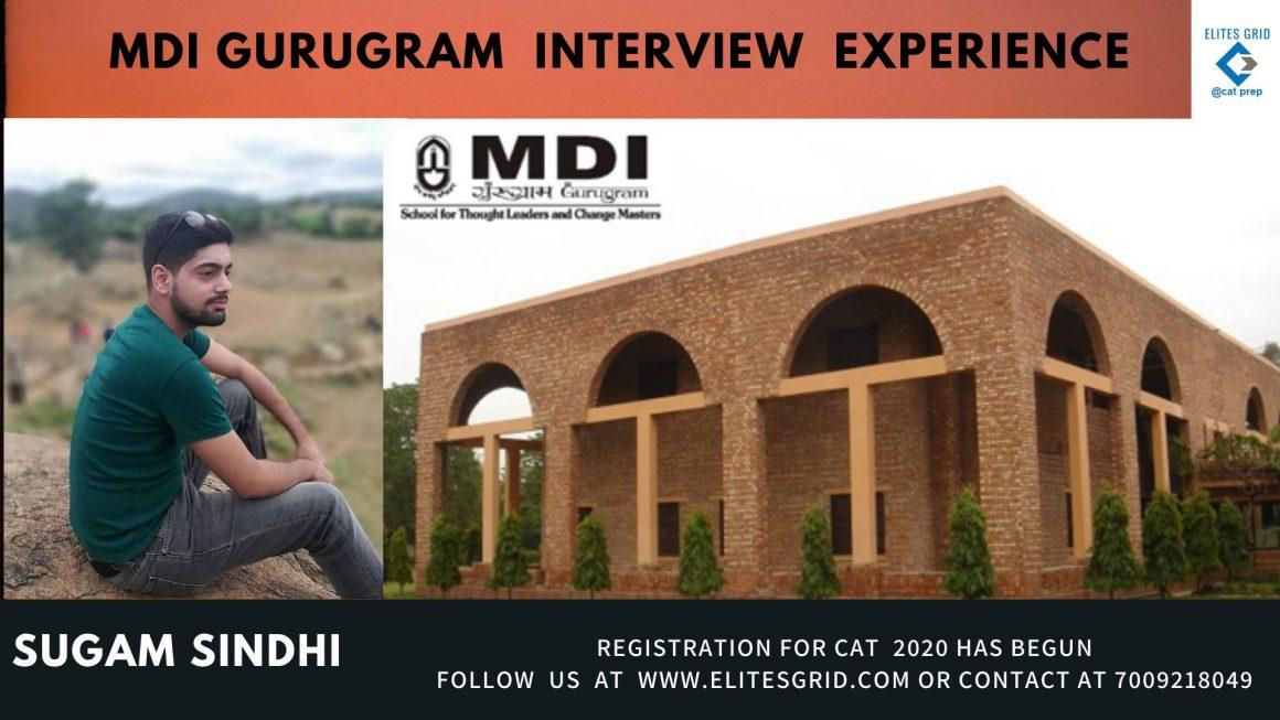MDI interview